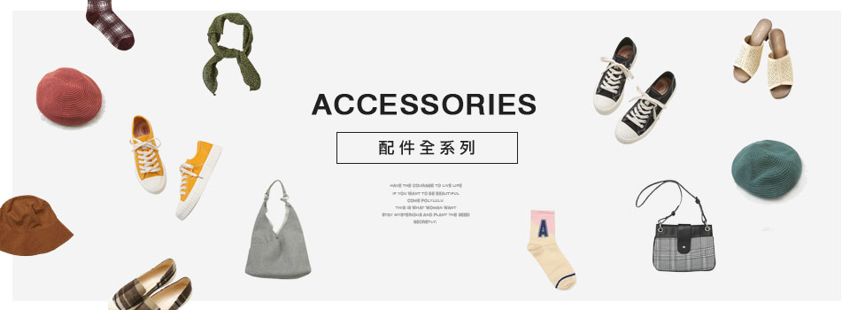 ALL ACCESSORIES 配件全系列